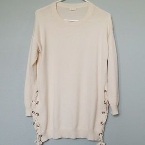 Debut oversized laced sides sweater XS